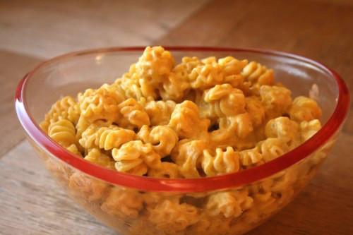 Creamy Buttercup Squash Pasta