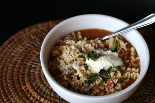 Lasagna Soup | Jamie's Recipes