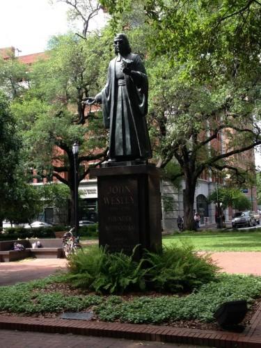 John Wesley Monument