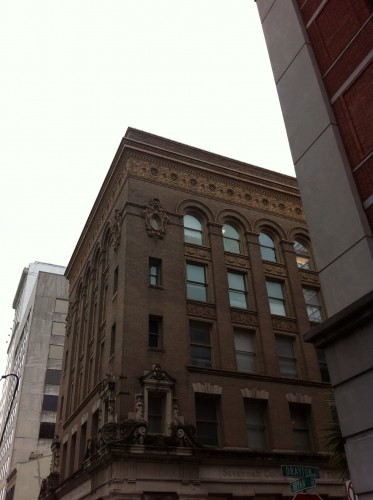 Savannah College of Art and Design (SCAD) has restored many building in downtown Savannah.