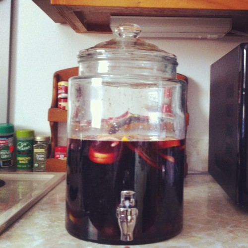 Red Wine Sangria | Jamie's Recipes