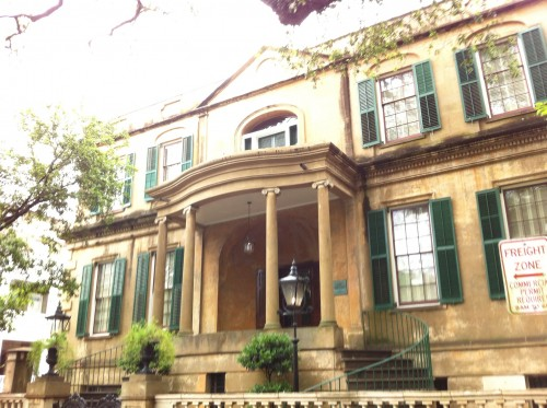 Richardson House | Some of the giant old homes around the squares are open for tours