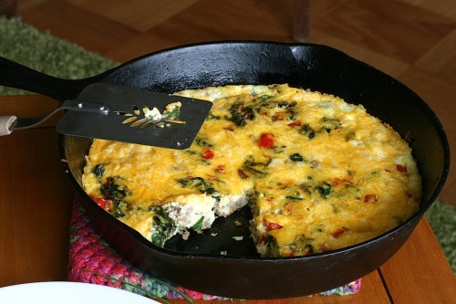 Ground Turkey Frittata | Jamie's Recipes