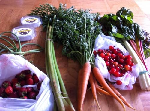 farmers market loot