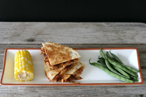 BBQ Chicken Bacon Quesadillas | Jamie's Recipes