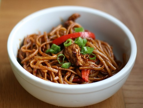 Spicy Peanut Butter Noodles | Jamie's Recipes