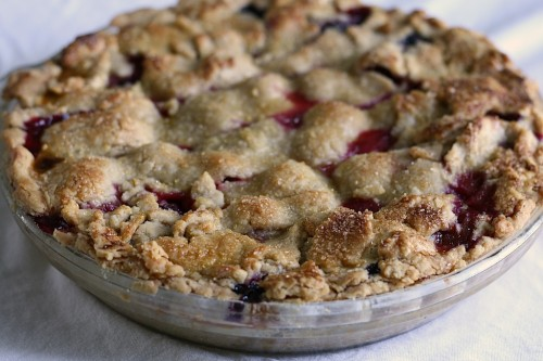 Triple Berry Pie via Jamie's Recipes