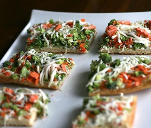 Vegetable Pizza | Jamie's Recipes