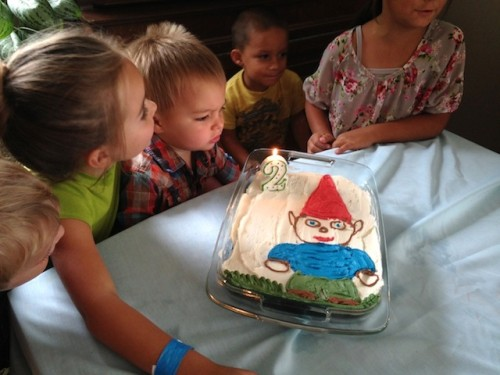 Gnome Cake | Jamie's Recipes