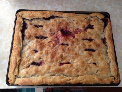 Triple Berry Slab Pie | Jamie's Recipes