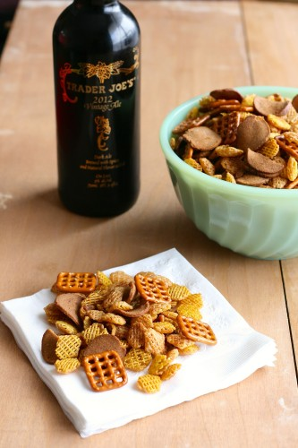 Party Mix via Jamie's Recipes