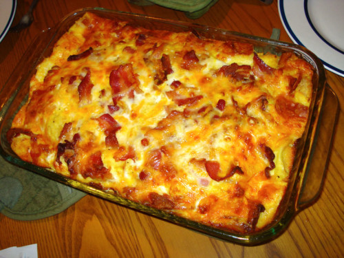Bacon & Egg Bake