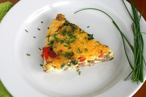 Healthier Breakfast Frittata