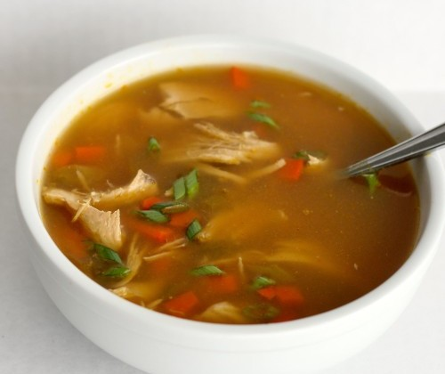 Chinese Chicken And Rice Soup Asian Chicken a...