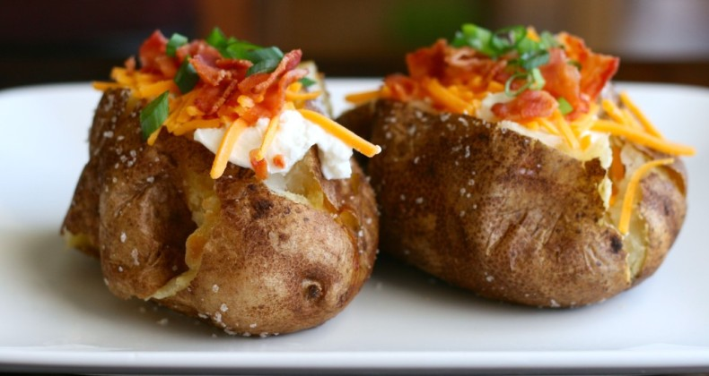 Steakhouse Baked Potatoes
