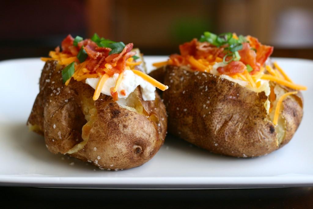 Food Ideas Baked Potato