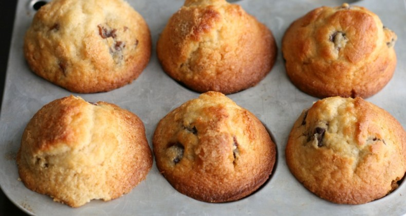 Dried Cherry Muffins