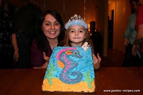 Seahorse Cake