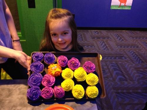 The Lorax themed birthday