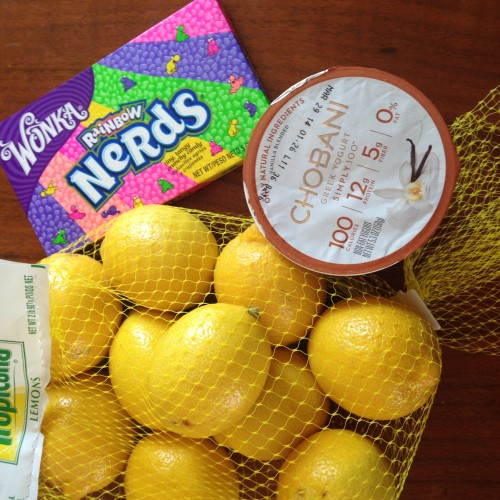 Lemon Nerds Yogurt