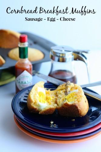 Cornbread Breakfast Sandwiches
