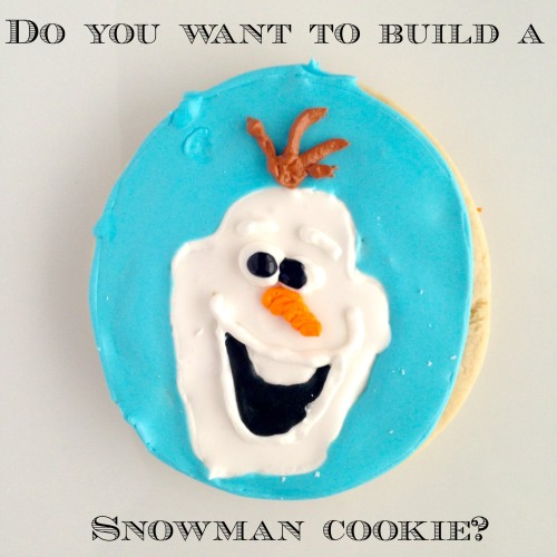 Olaf Sugar Cookies