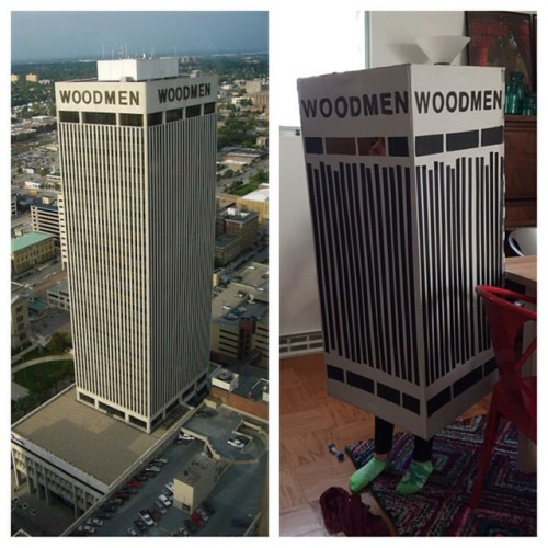 Woodmen Tower Costume
