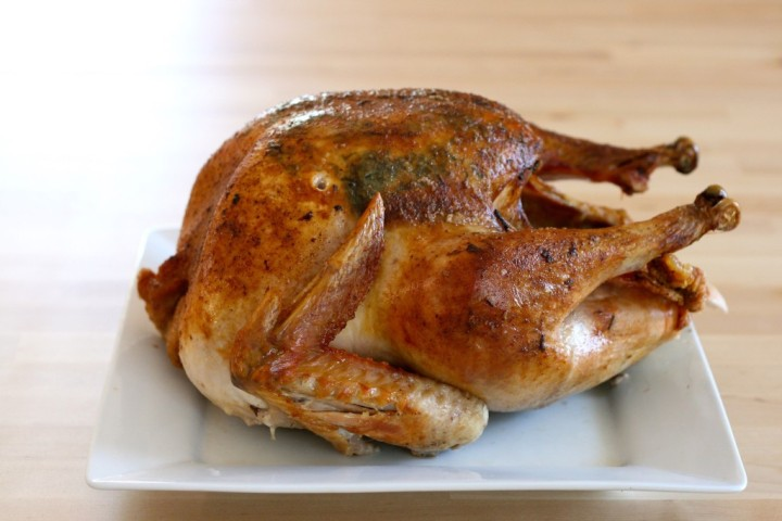Oven roasted turkey by the kitchenarium for How long to cook 11 lb turkey