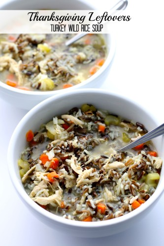 Chicken or Turkey Wild Rice Soup