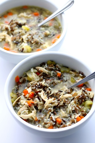 Turkey or Chicken Wild Rice Soup
