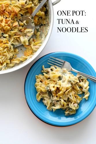 One Pot: Tuna & Noodles