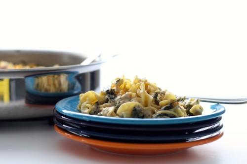 ONE POT: Tuna and Noodle Casserole