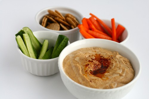 Smoked Almond Hummus