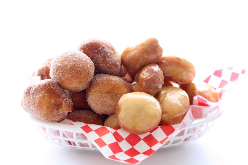 Yeasted Doughnut Holes