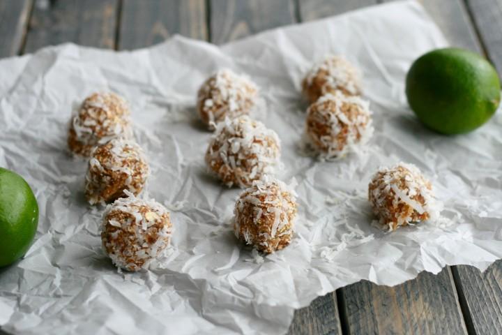 Coconut-Lime Energy Bites