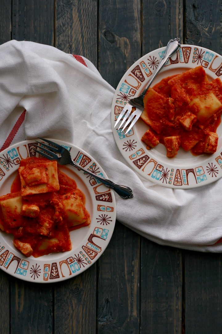 Chicken Ravioli -ready in 15 minutes