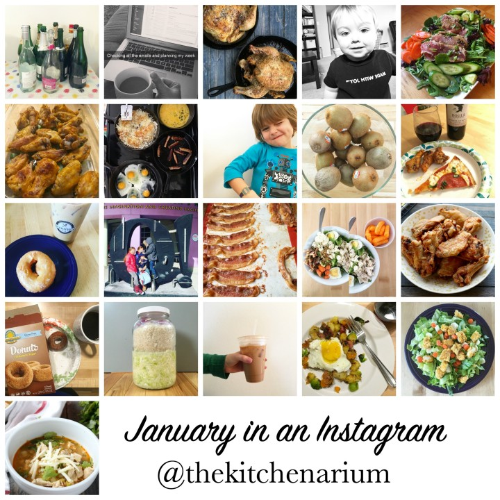 January in an Instagram