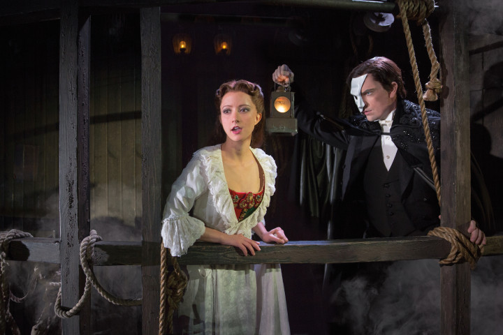 THE PHANTOM OF THE OPERA 1 - Katie Travis and Chris Mann - photo by Matthew Murphy copy