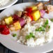 Pina Colada Chicken Coconut Rice