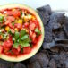 Fresh Watermelon Salsa Bowl