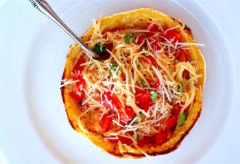 Spaghetti Squash Bruschetta
