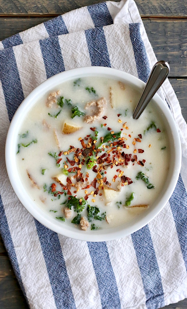 Better for you Zuppa Toscana