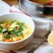Ginger and Turmeric Chicken Rice Soup